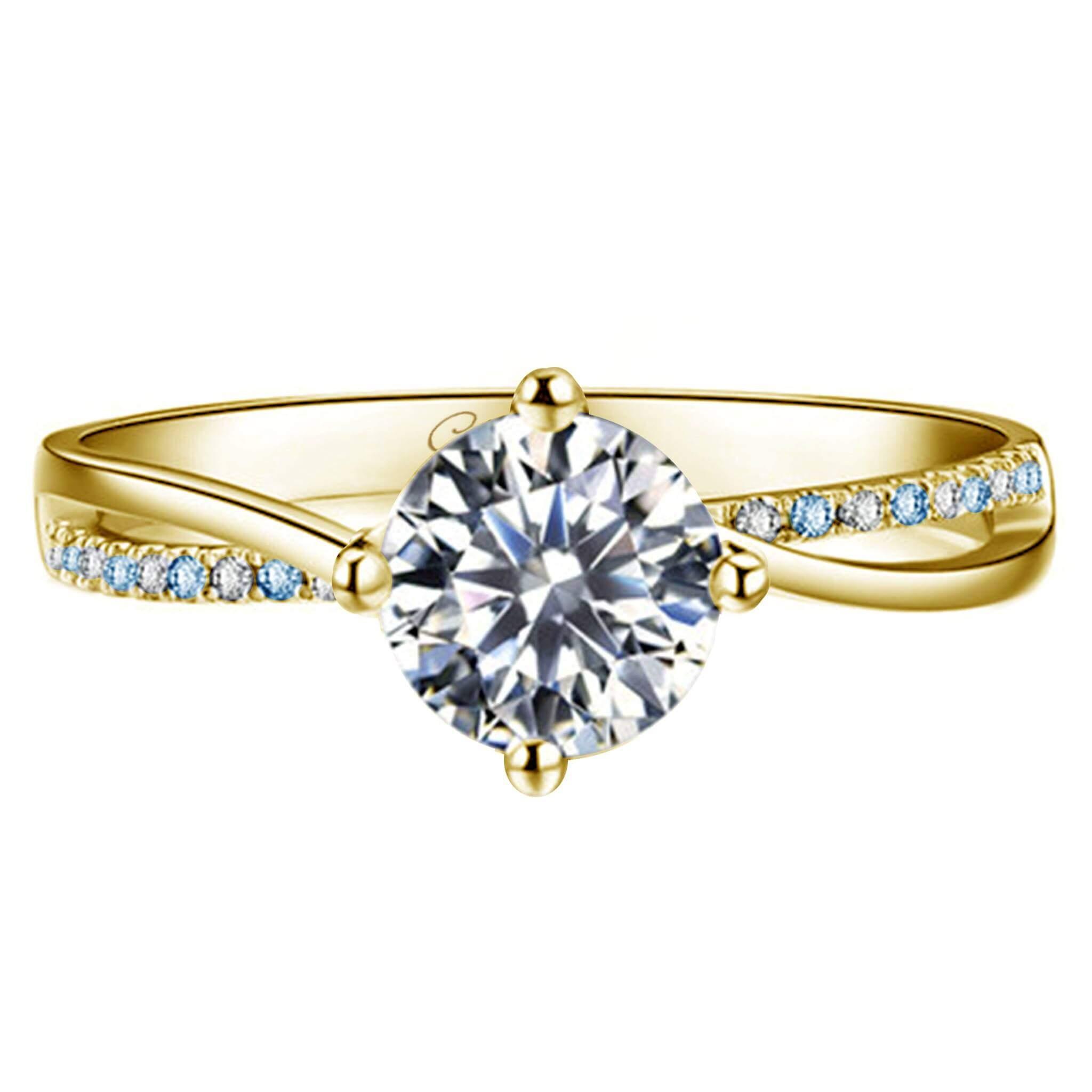 1df6f508fa8d Tu anillo de compromiso debe mostrarte a ti en todo tu esplendor. Tus  colores son dorados o amarillos cálidos con brillos. Este espectacular  diseño viene ...