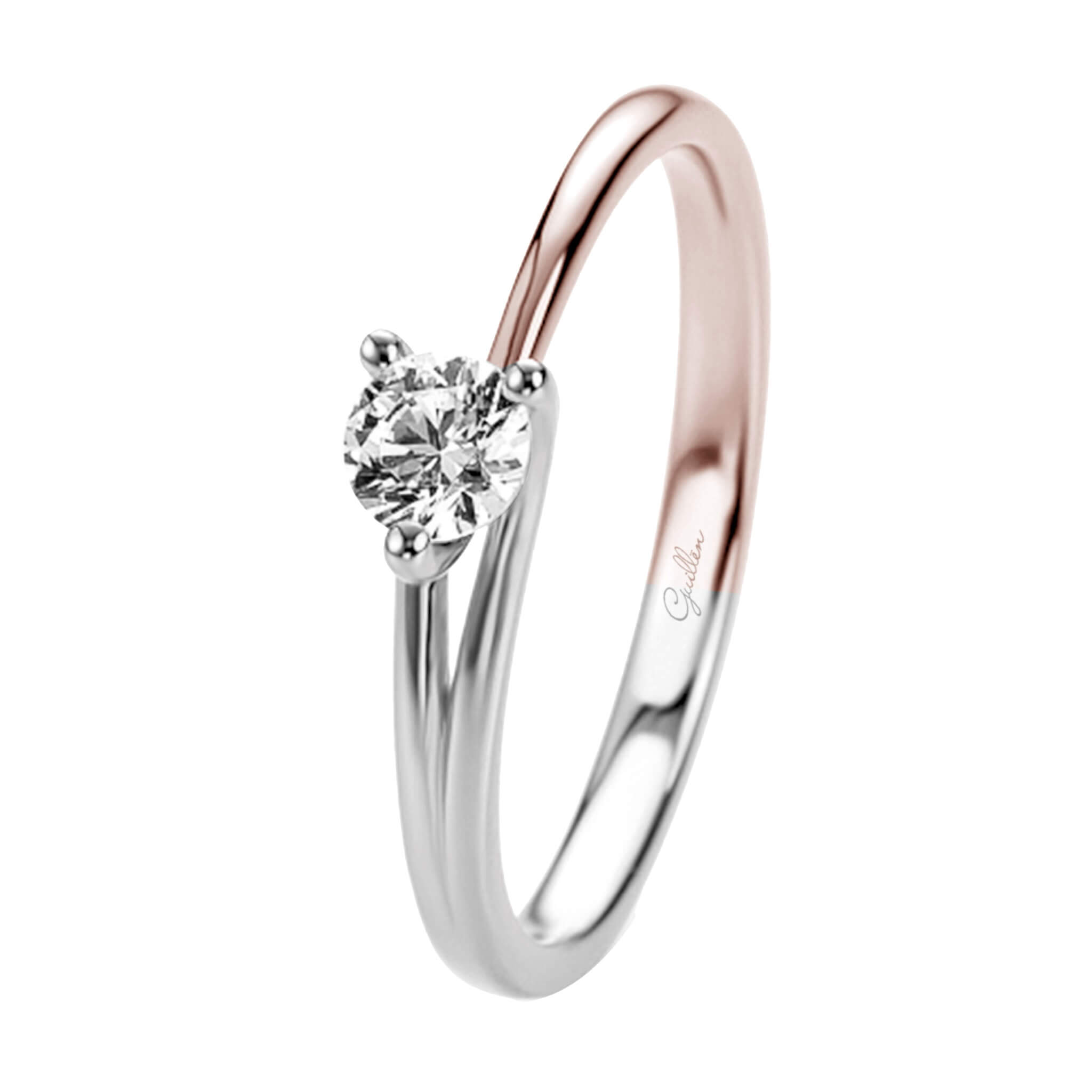 Anillo de compromiso ideal Virgo